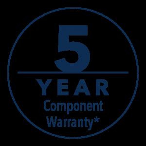 5 Yr Component Warranty
